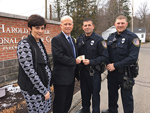 HLRCC Thanks Watertown Police Department for Supporting Survivors